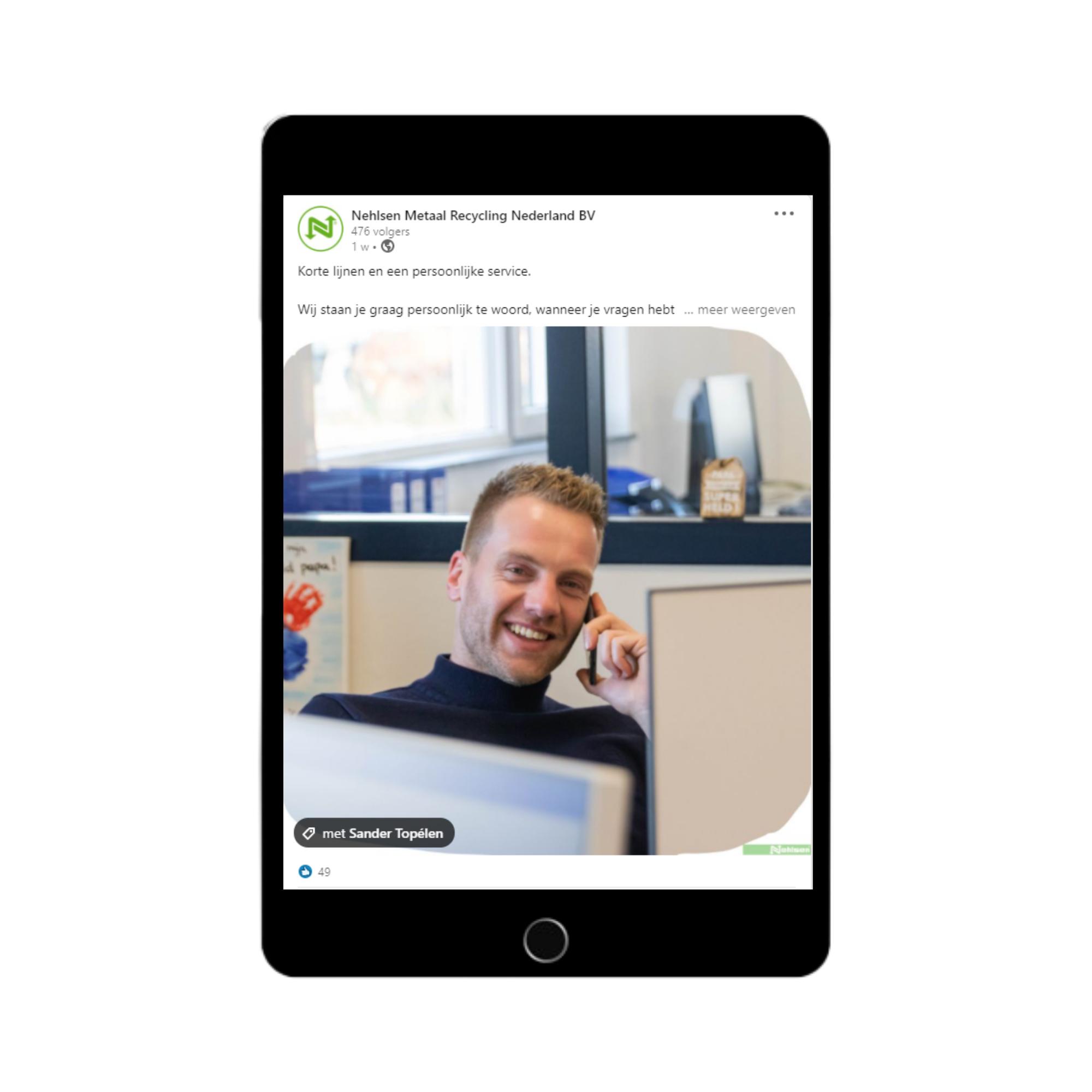 Nehlsen Metaalrecycling LinkedIn